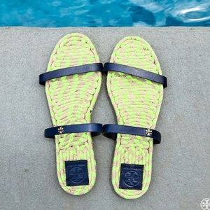  •Tory Burch•  Espadrille Sandals